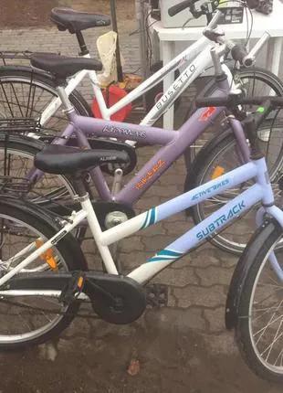 Немецкие велосипеды с алюминиевой рамой .