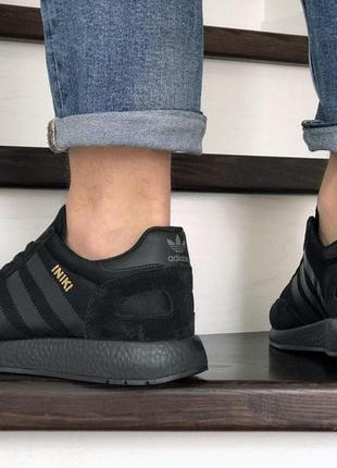 Кросівки чоловічі adidas iniki чорні