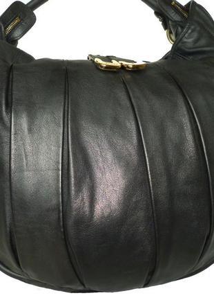 Шикарная большая сумка натуральная кожа bally