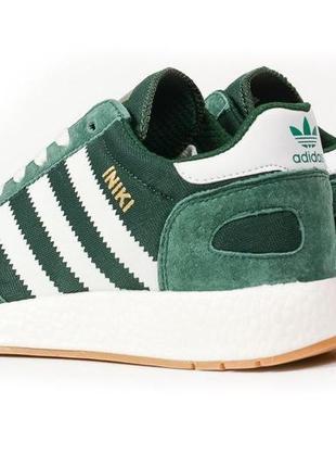 Кроссовки мужские adidas iniki зелёные