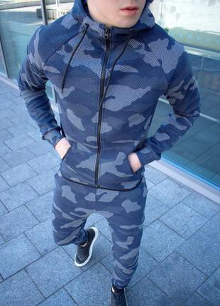 Мужской спортивный костюм камуфляж s-xl