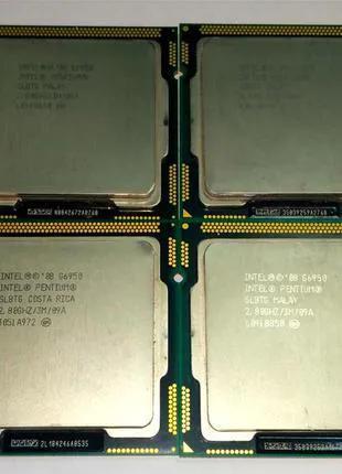 Лот 4шт Процессор Intel Pentium Dual Core G6950 2.8GHz s1156
