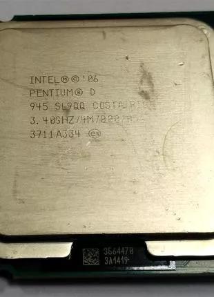 Процессор Intel Pentium D945 2 ядра по 3.4GHz Socket 775