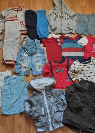 Пакет одежды, одежда мальчику от 6 месяцев до 1,5 лет