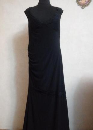 Sale! вечернее платье в пол!р.16(50)!