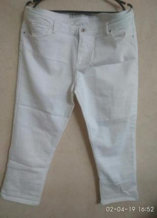 Sale! укороченные джинсы-скинни! р. 18(52-54)!!