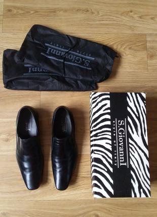 Мужские кожаные классические туфли S. Giovanni 42 разме