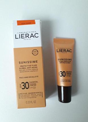 Солнцезащитный тонизирующий флюид  lierac sunissime energizing...
