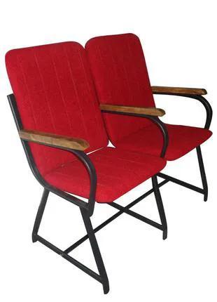Кресло для актового зала Студент с мягкими подлокотниками