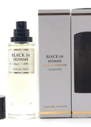 Парфюмированная вода для мужчин версия paco rabanne black xs