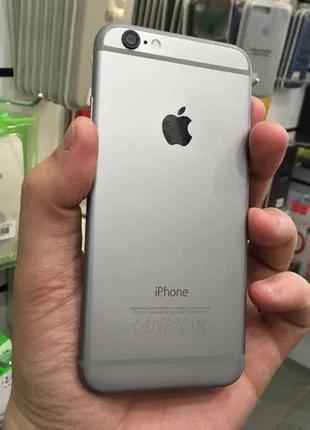 Apple iPhone 6 64Gb Space Gray Neverlock Гарантия бу