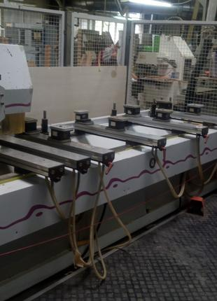 Обрабатывающий центр чпу Weeke Optimat Bhc-350 и другое оборудова