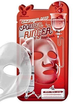 Коллагеновая маска elizavecca collagen deep power mask pack, к...