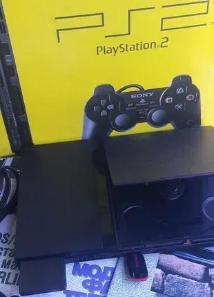 Игровая приставка Sony Playstation 2 PS2 FreeMCBoot