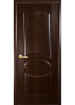 Межкомнатная дверь Овал  ПВХ Deluxe