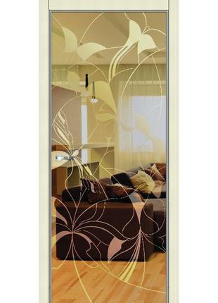 Зеркальная межкомнатная дверь Bronzo (Бронзо)