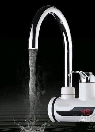 Цифровой мгновенный водонагреватель с экраном Delimano
