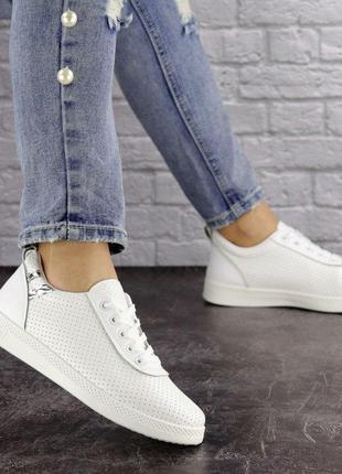 Модные легкие женские кроссовки, белые, весна, лето, осень, 36-41