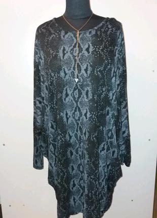 Платье с  фасоном летучая мышь р.2xl  obsession