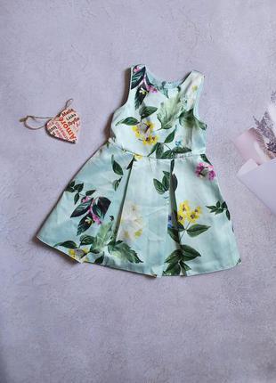 Нарядное платье 4г next