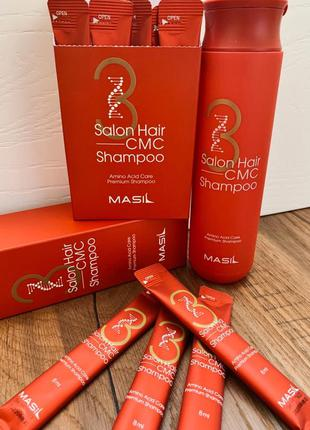 Корейский шампунь для волос masil