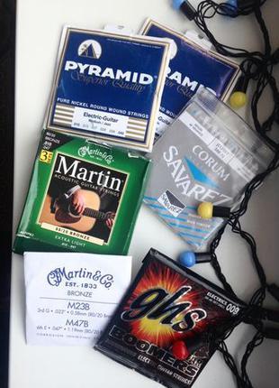 Струны для електро гитары Piramid и др.