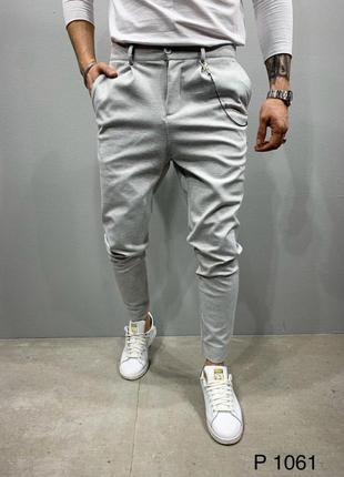 Мужские трендовые брюки штаны джинсы в наличии