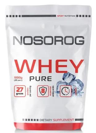 Протеин сывороточный Whey (1 kg, pure) NOSOROG