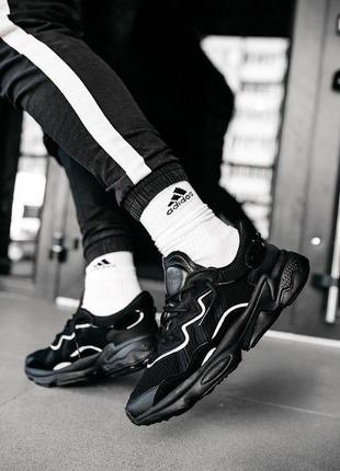 """Мужские кроссовки adidas ozweego """"black""""😍"""