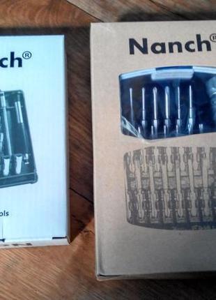 Профессиональный набор отверток для электроники - Nanch 22 и 28