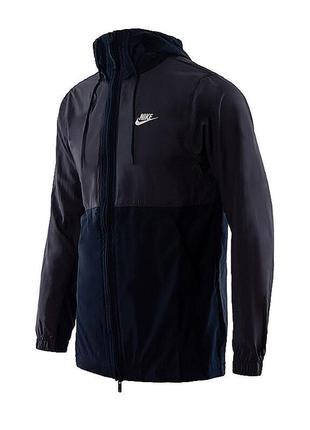 Куртка ветровка бомбер анорак nike sportswear jacket hd woven ...