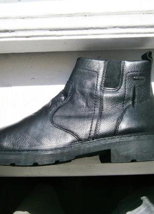 Ботинки imac зимові оригінал натуральная кожа нові