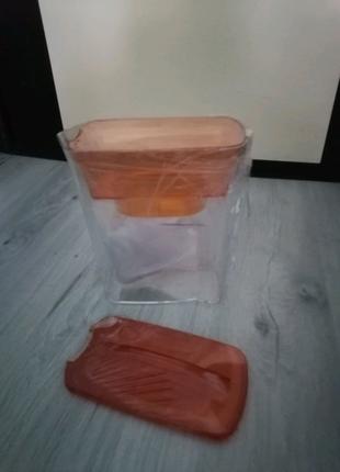 """Фильтр-кувшин """"Фильтрик"""" (оранжевый) 1,6 л."""