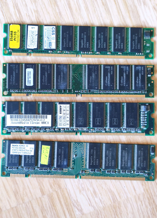Модули памяти DIMM 128Mb, 256Mb, 512Mb