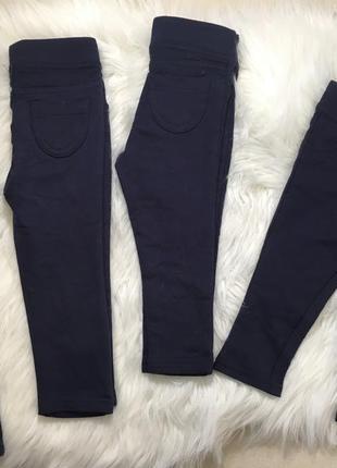 Новые штаны, теплые лосины для девочки 6-9, 9-12, 12-18, 18-24