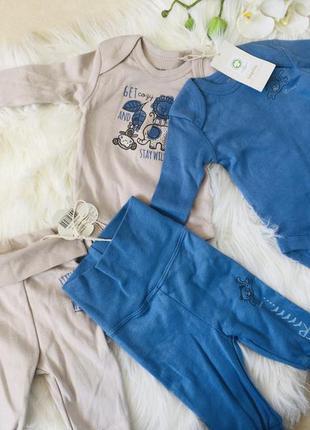 Два костюма для малышей, костюмы для новорожденных, боди