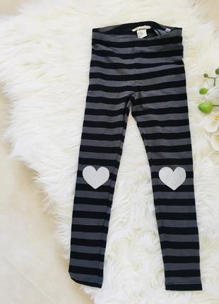 Новые штаны на девочку 5-6 лет, лосины для девочки