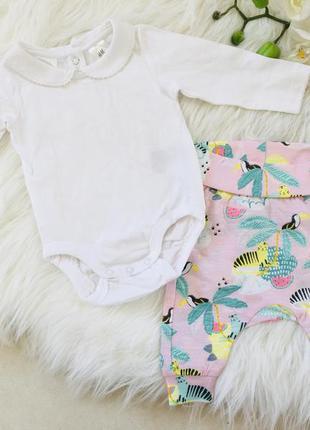 Новый костюм для новорожденного, набор новых вещей 50-56