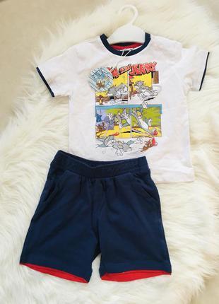 Костюм для мальчика, 2-2,5 года, костюм летний 18-24, футболка...