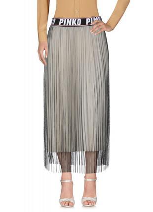 Плиссированная юбка Pinko с фатином