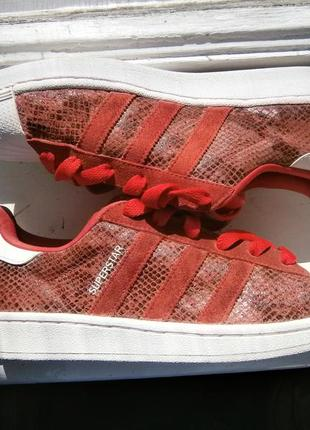Кеди women's adidas originals superstar w casual shoes оригінал