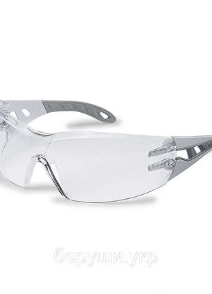 Очки защитные Uvex Pheos (Увекс Феос), Защита от царапин