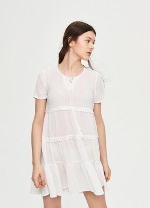 Пляжное платье новое с биркой размер xs