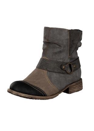 Ботинки зимові rieker women ankle boot grey 74797-01 оригінал