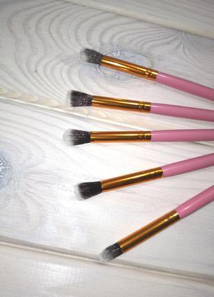 5 шт кисти для макияжа таклон rose/gold probeauty