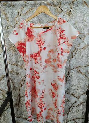 Шикарное летнее платье футляр  миди