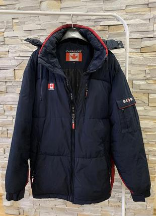 Мужская зимняя куртка сanadiens