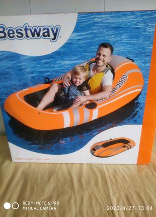 Лодка надувна. Човен