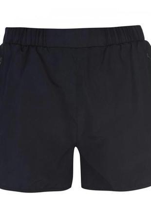 La gear женские шорты черные спорт бег