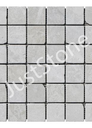 Кремовая Мраморная Мозаика Антик МКР-3СВА (47x47)
